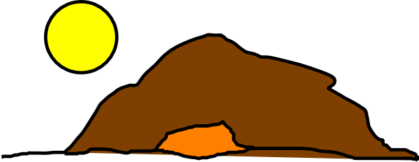 600x232 Mountain Cave Clipart Amp Mountain Cave Clip Art Images