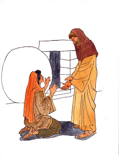 247x320 Christ's Tomb Clip Art