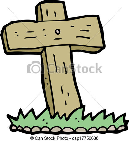 430x470 Collection Of Cross Grave Clipart High Quality, Free