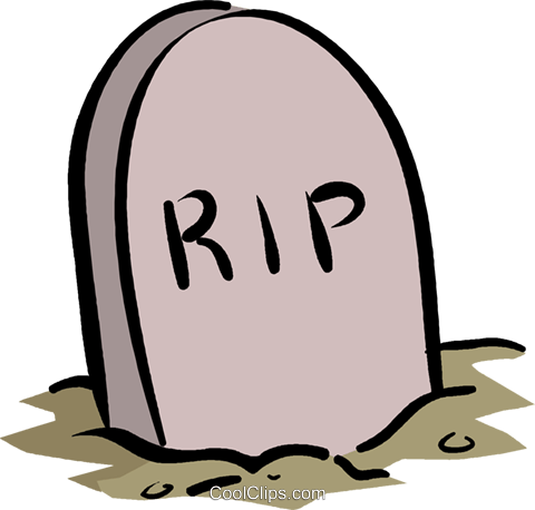 480x458 Tombstone Royalty Free Vector Clip Art Illustration Vc016111