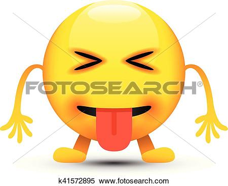 450x366 Eyes Tongue Clipart