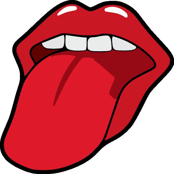594x595 Tongue Clip Art