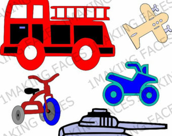 340x270 Construction Vehicles Clipart Personal And Limited Commercial