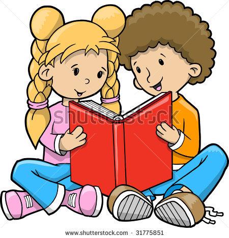 450x468 Reading Books Clipart