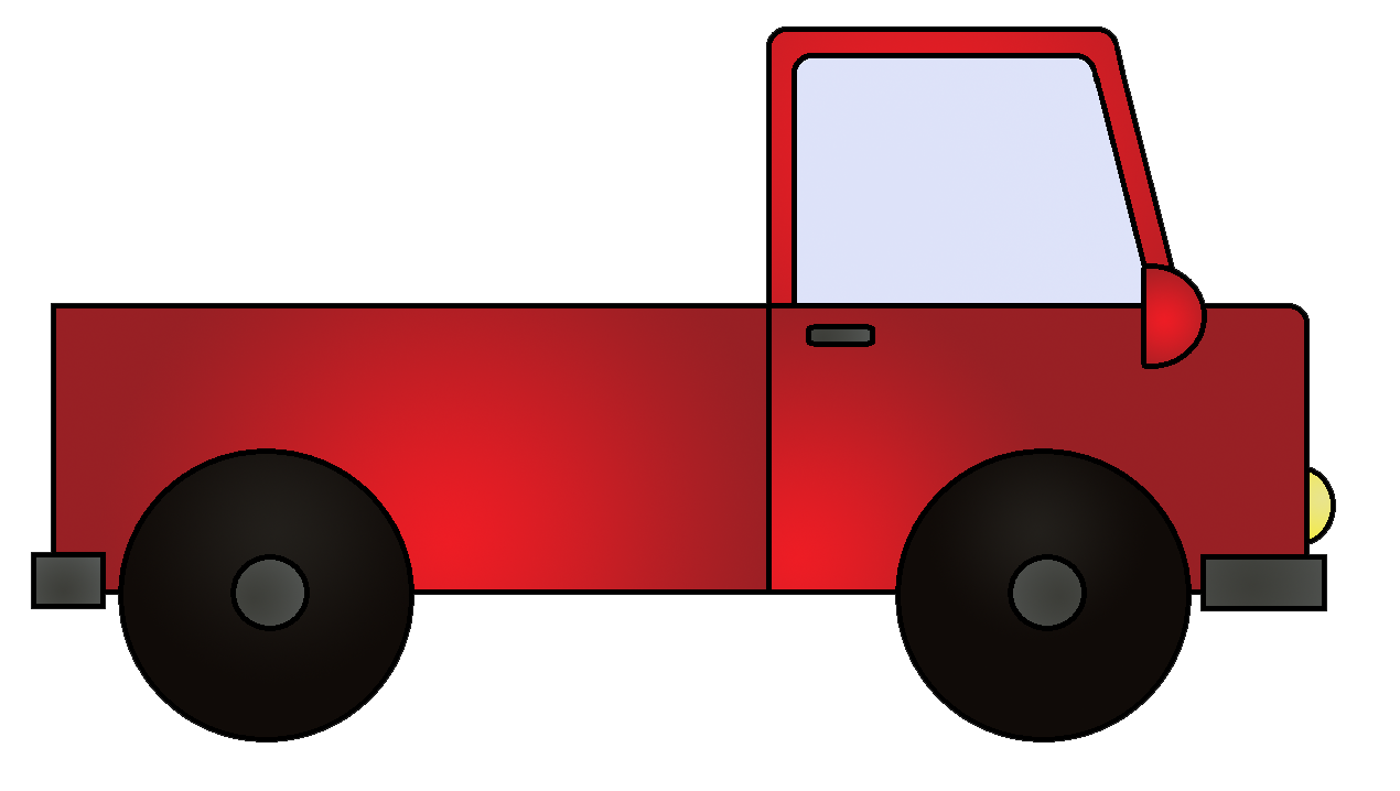 1270x718 Truck Clipart Bright Red