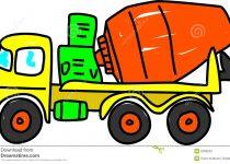 210x150 Clip Art Concrete Truck Clip Art