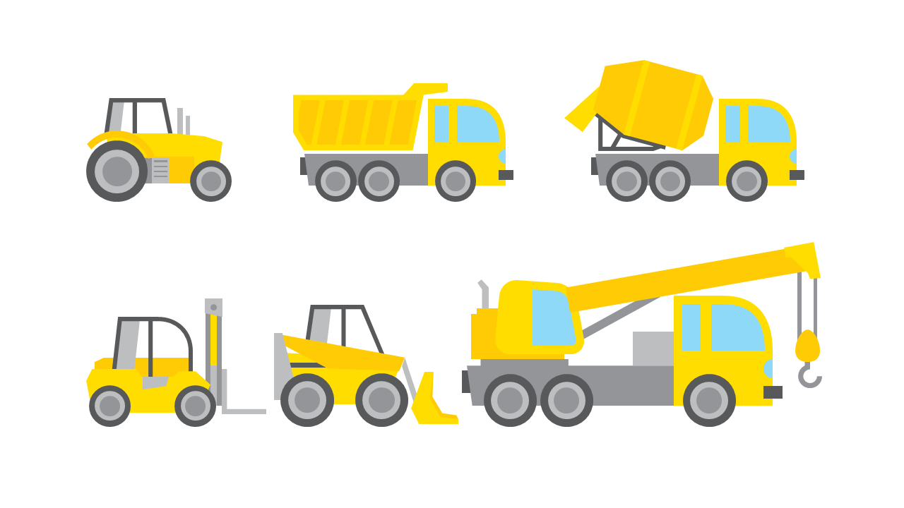 1280x720 Clip Art Construction Truck Clip Art
