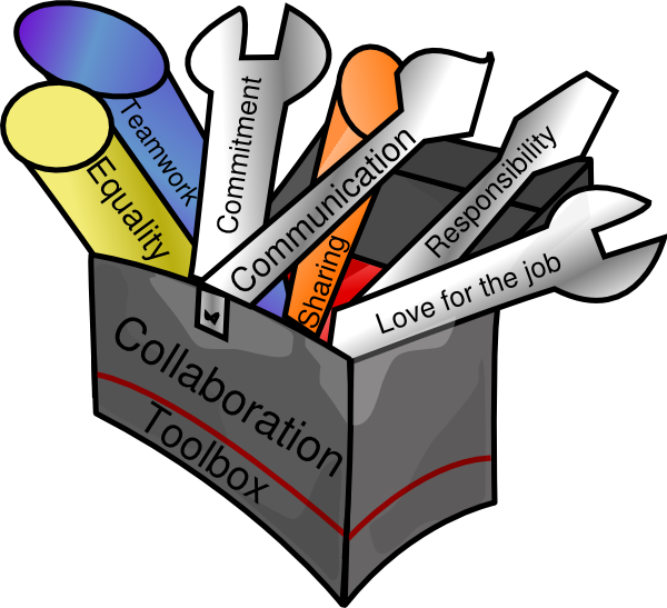 600x547 Collaboration Toolbox Clip Art