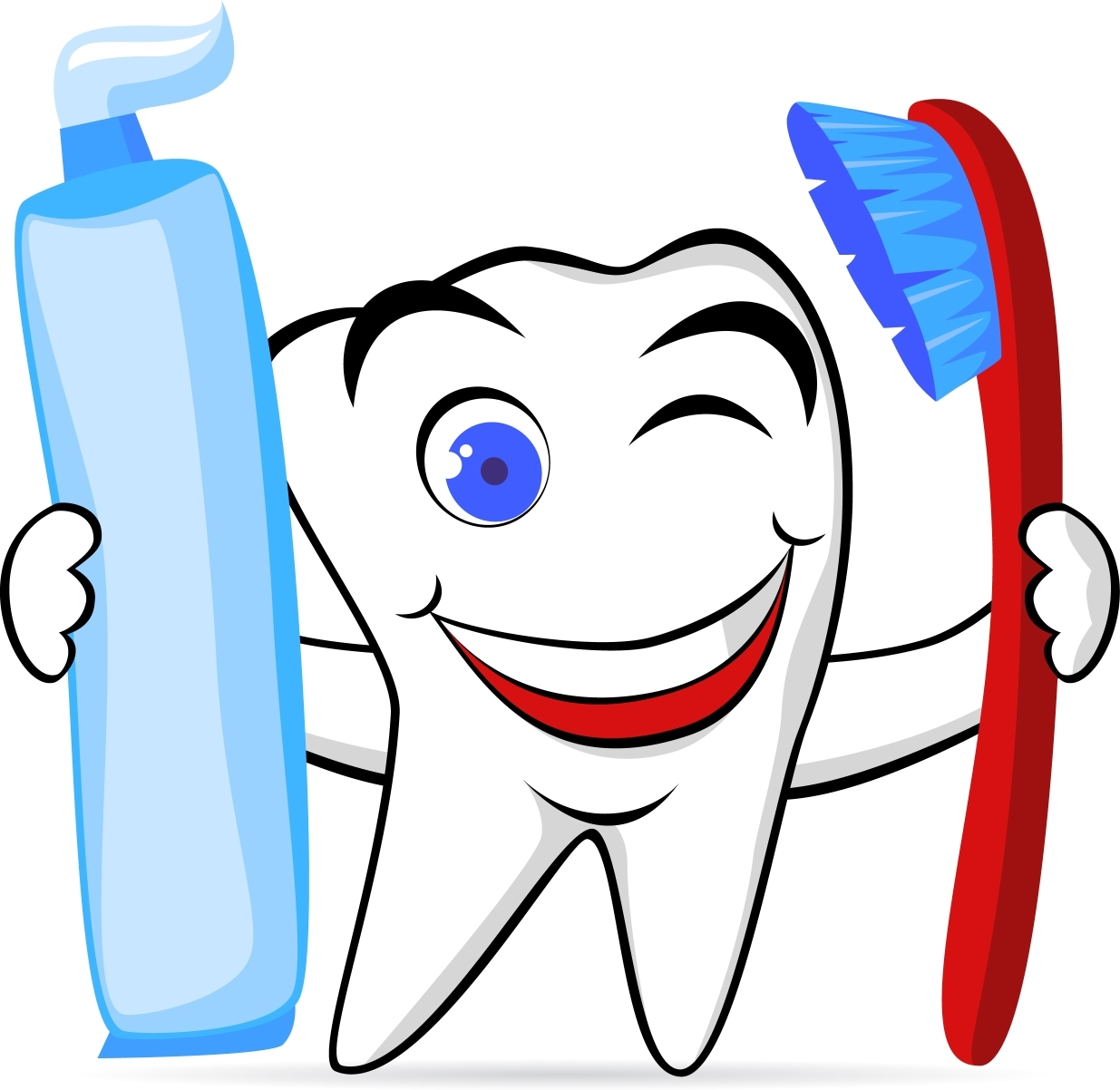 1235x1202 New Tooth Clipart Design