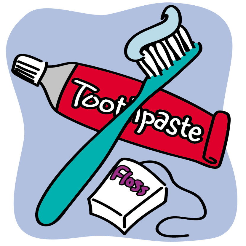 830x830 Tooth And Toothbrush Clipart