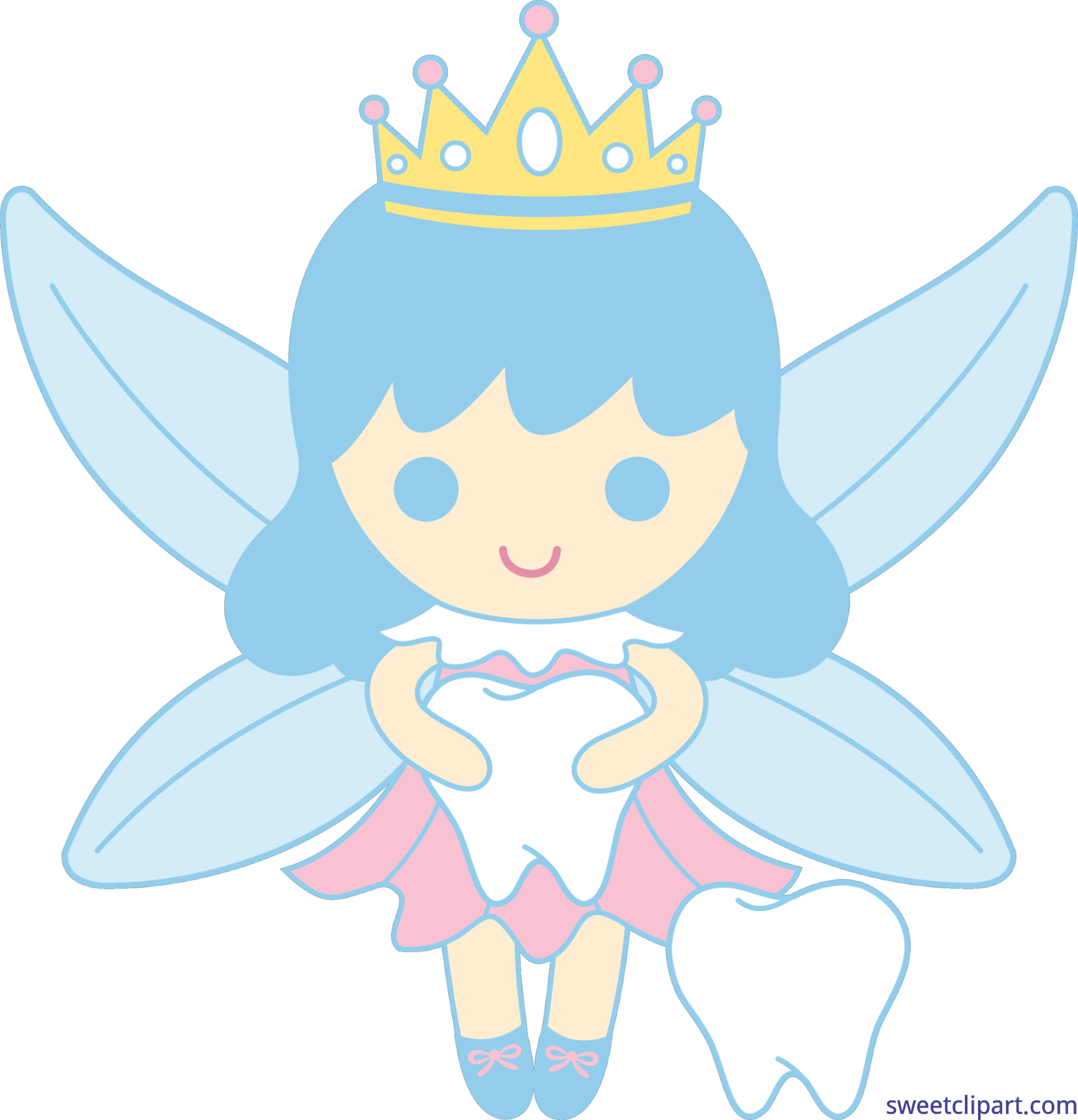 6733x6997 Tooth Fairy Clip Art