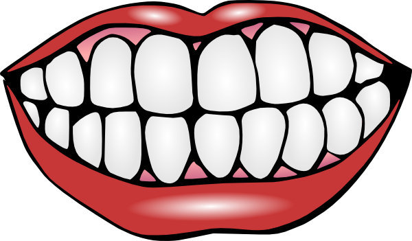 600x351 Tooth Images Clip Art Cartoon Mouth Clip Art Free Mouth And Teeth