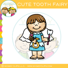 240x240 Cute Tooth Fairy Clip Art , Images Amp Illustrations Whimsy Clips