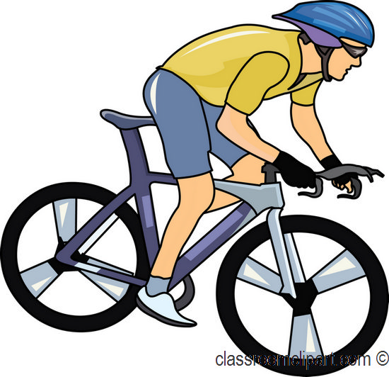 550x532 Cyclists Clipart
