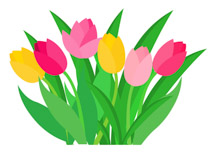 210x153 Gallery Spring Flowers Clip Art,