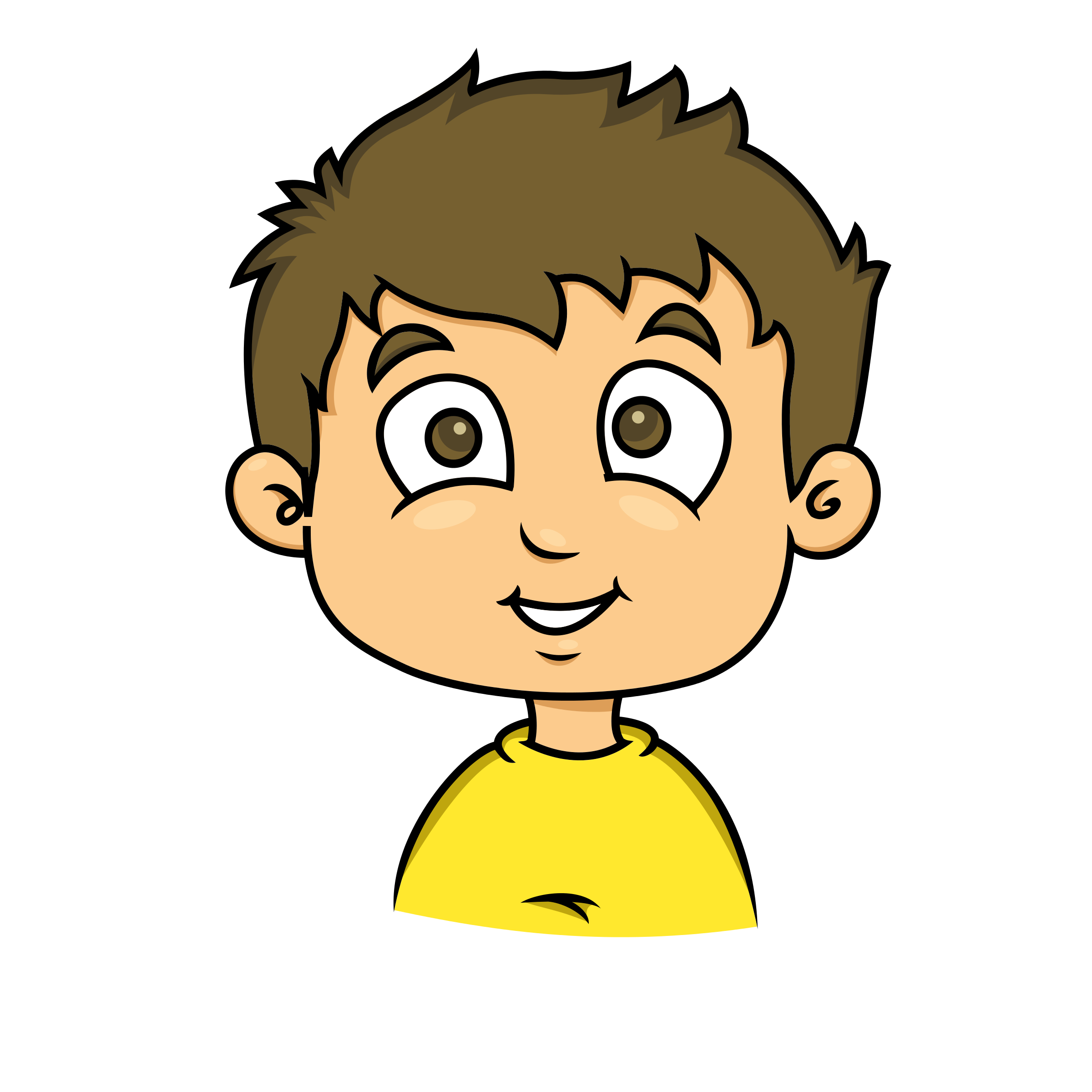 2400x2400 Grin Clipart Child Smile