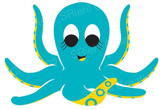 570x380 Top 70 Octopus Clip Art
