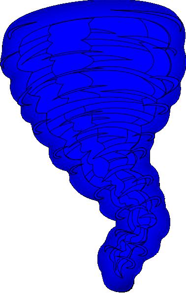 378x595 Tornado Mountains Clipart Image