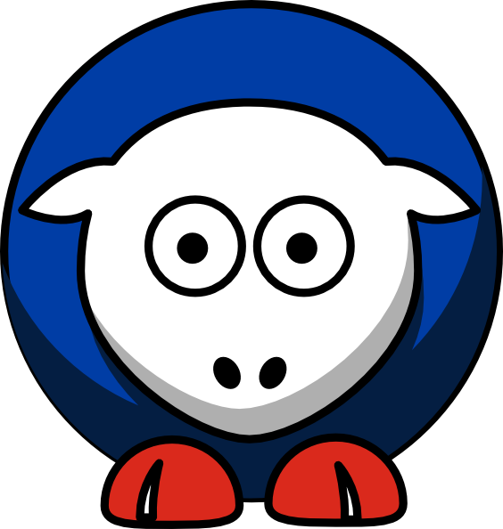 564x594 Sheep Toronto Blue Jays Colors Clip Art
