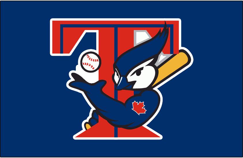 843x547 Toronto Blue Jays Batting Practice Logo