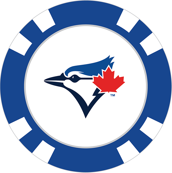 600x602 Toronto Blue Jays Poker Chip Ball Marker