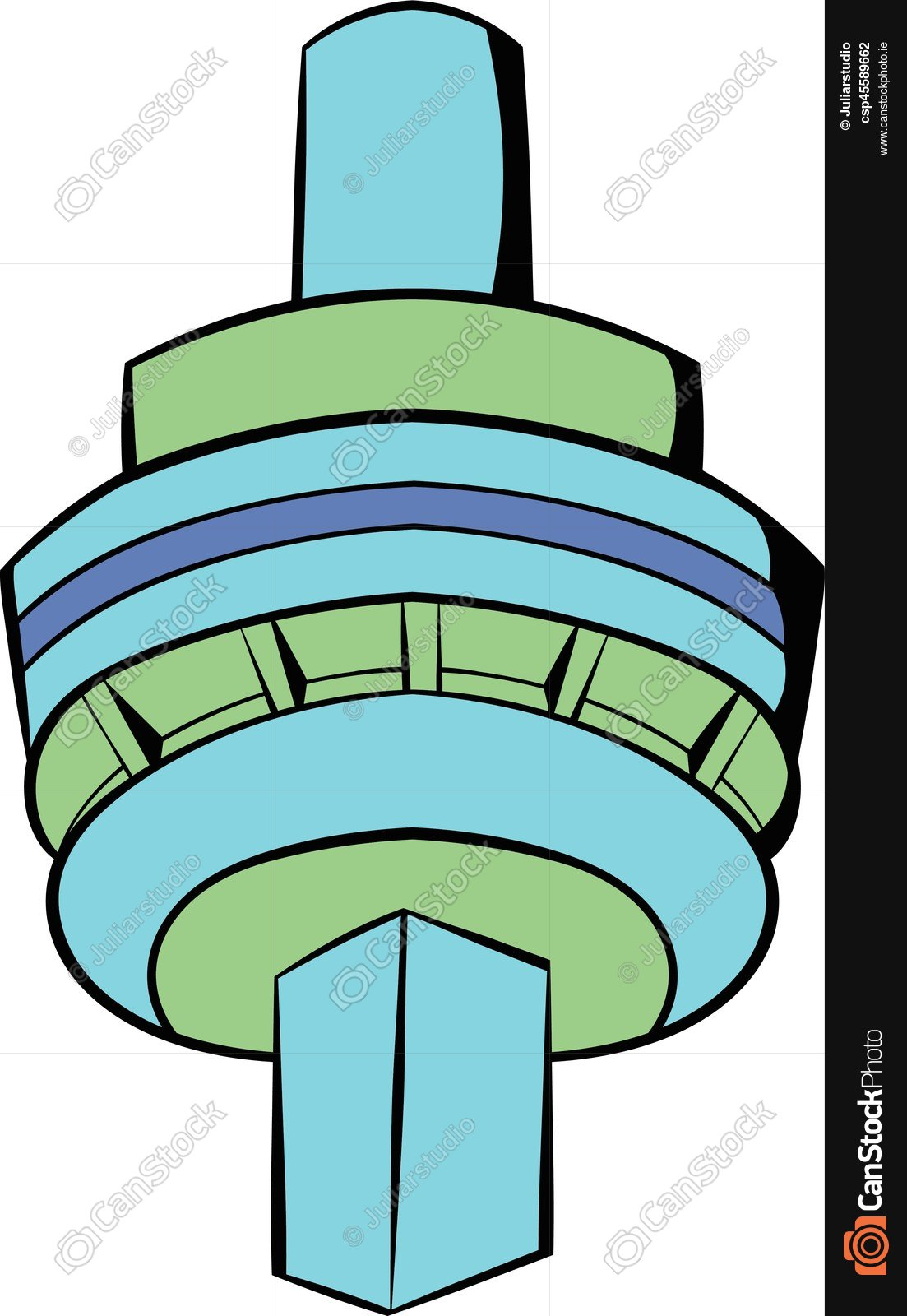 1103x1600 The Cn Tower In Toronto Icon Cartoon. The Cn Tower In Clip Art