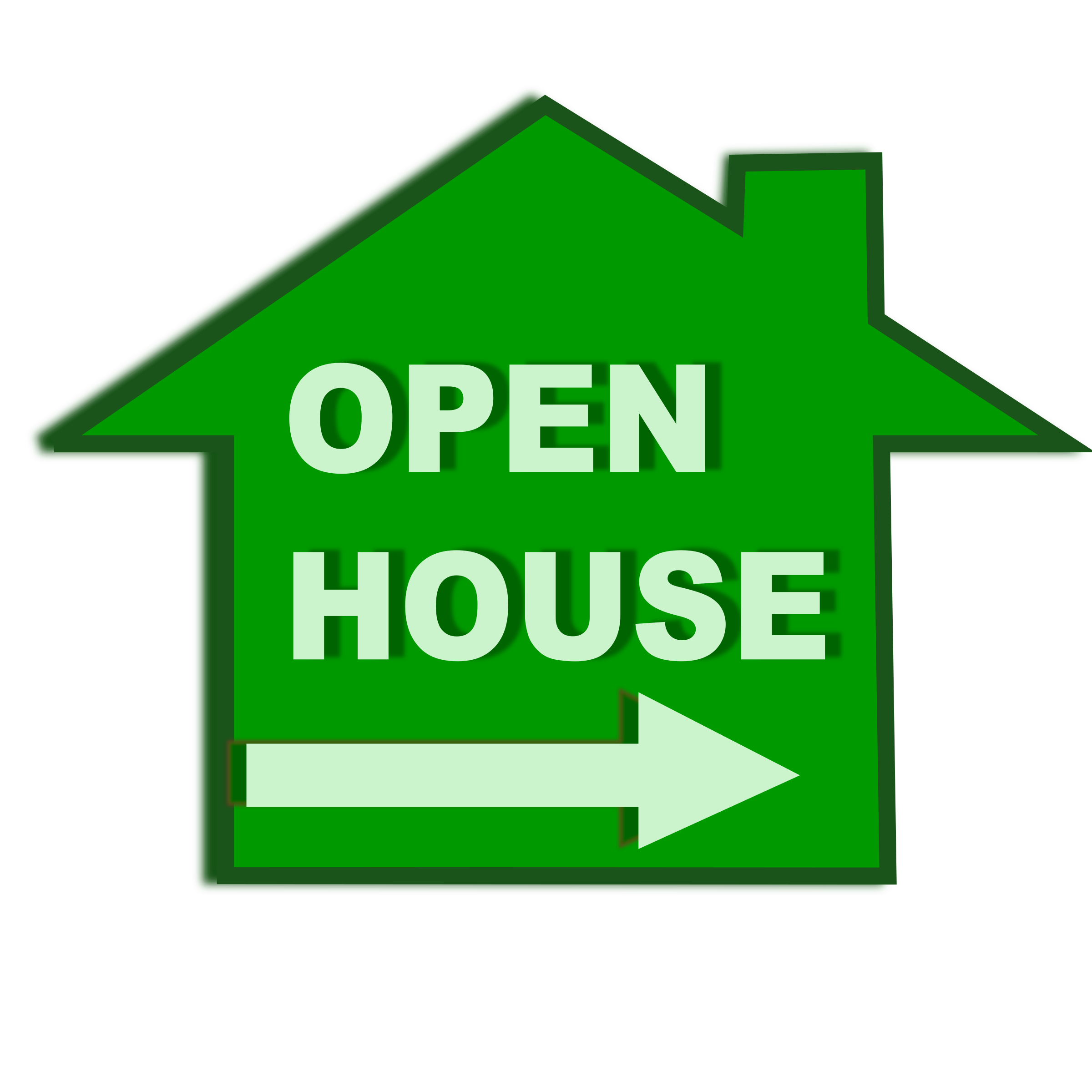 2400x2400 Open House Icon Icons Png