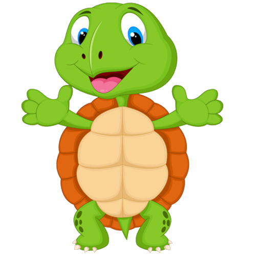 500x500 Vibrant Creative Tortoise Clipart Turtles Cartoon Clip Art Images