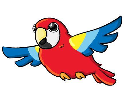 432x338 Jungle Parrot Clipart Amp Jungle Parrot Clip Art Images