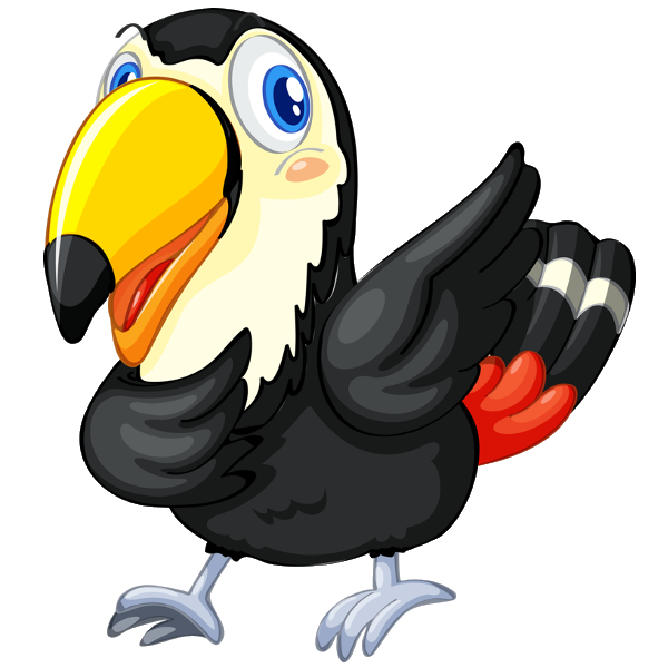 600x600 Toucan Cartoon Clipart Images Are Free To Copy For Your Own