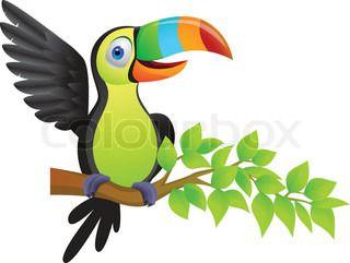 320x241 Fancy Toucan Cartoon Images