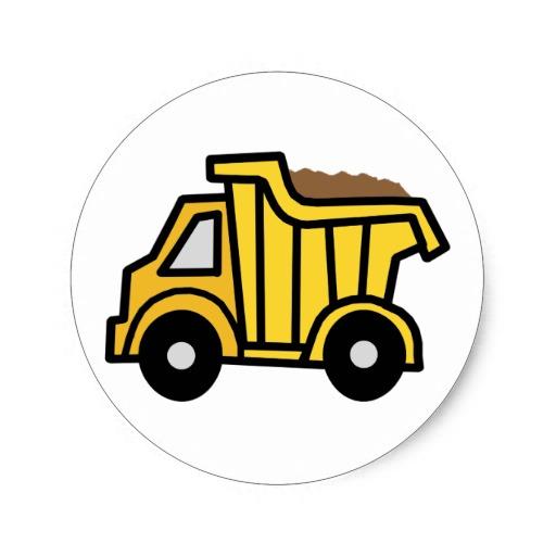 512x512 Construction Truck Clipart