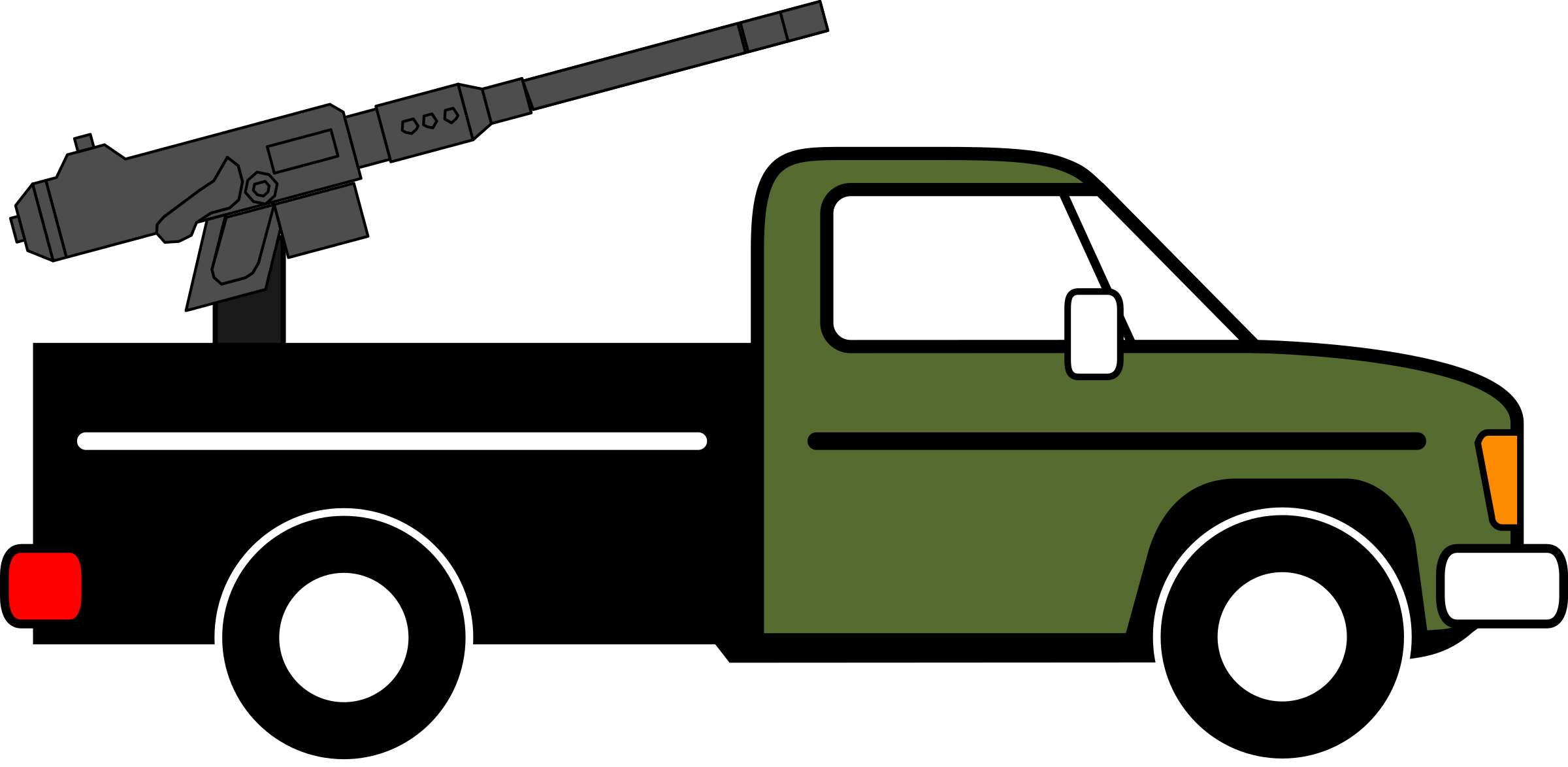 2400x1174 Technical, Modified From Pickup Truck Icons Png