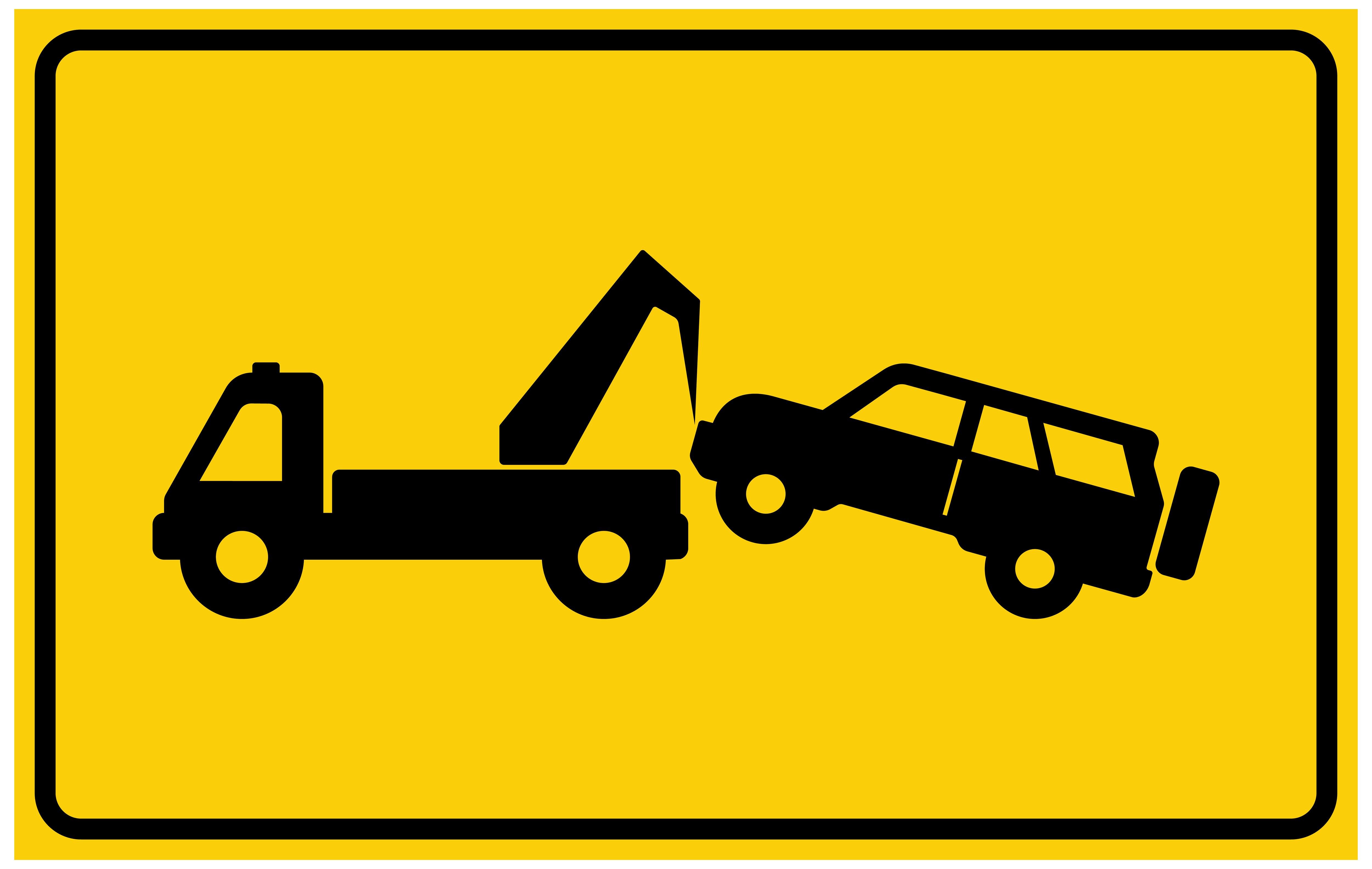 5000x3166 Tow Away No Parking Sign Png Clip Art