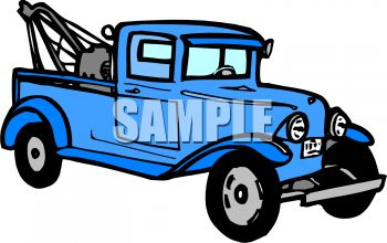 350x220 Vintage Tow Truck