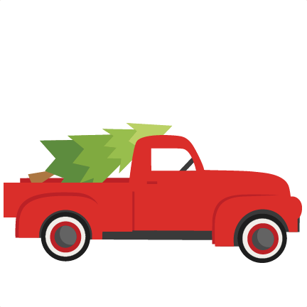 432x432 Christmas Truck Cliparts