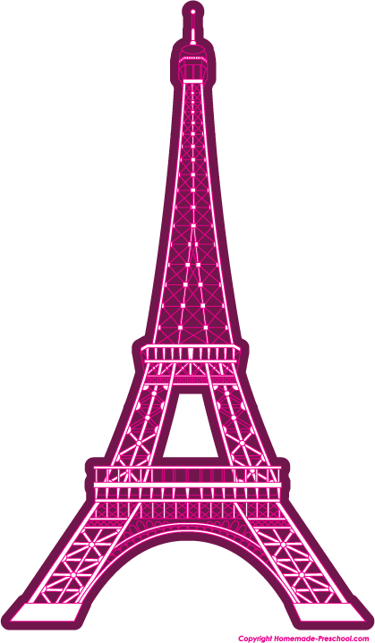 419x719 Free Eiffel Tower Clipart, Ready For Personal And Commercial