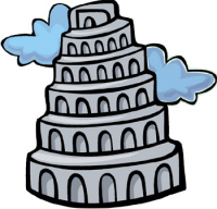 200x192 Tower Of Babel Clipart