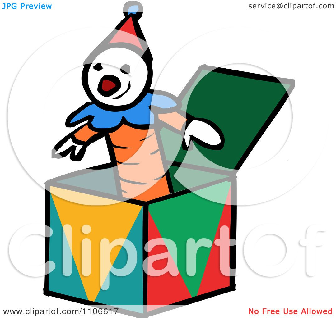 1080x1024 Clipart Jack In The Box Toy