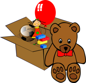 298x288 Box Of Toys Clipart Png Toys For Prefer