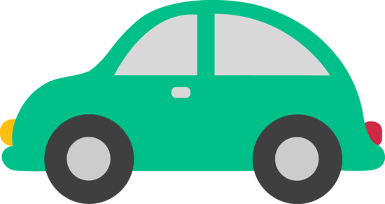 550x291 Green Toy Car Clipart