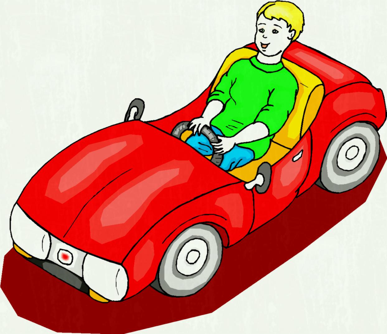 1243x1074 Boy In A Toy Car Stock Vector Royalty Free Cliparts Vectors