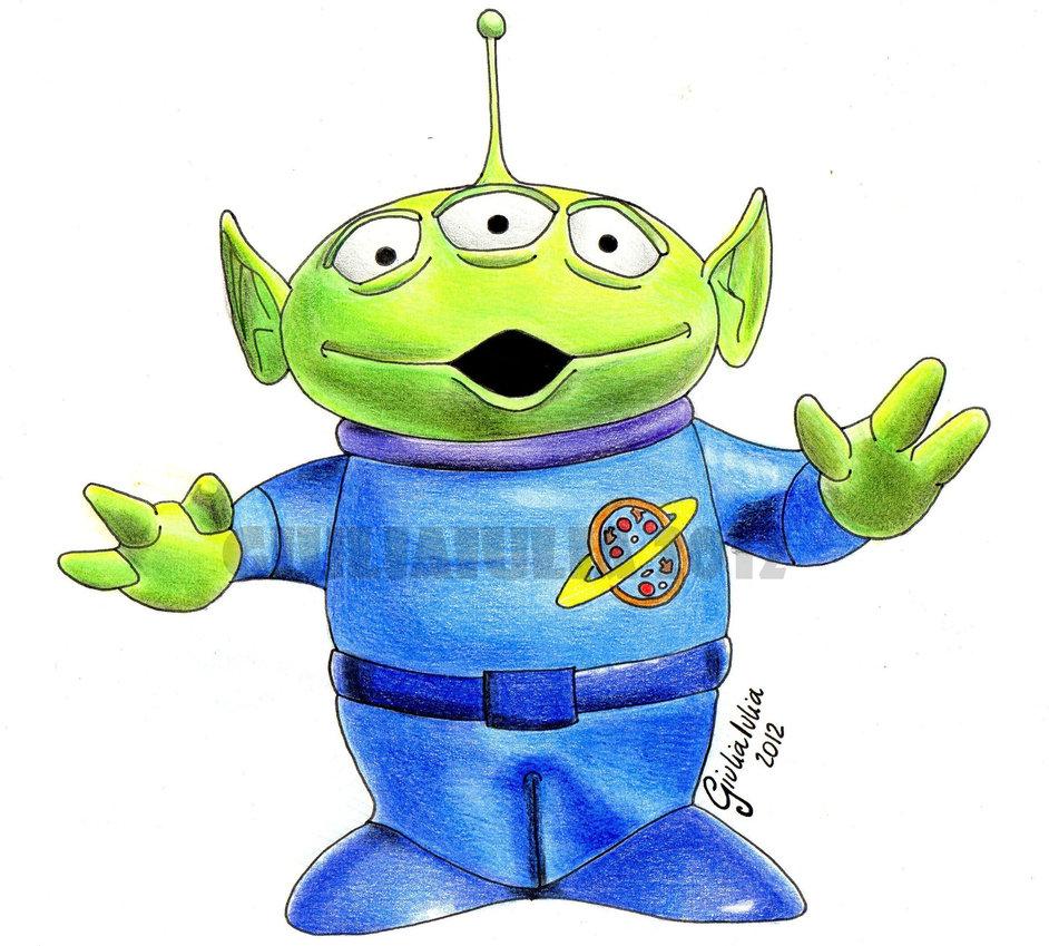 942x849 The Little Green Man (Aliens)
