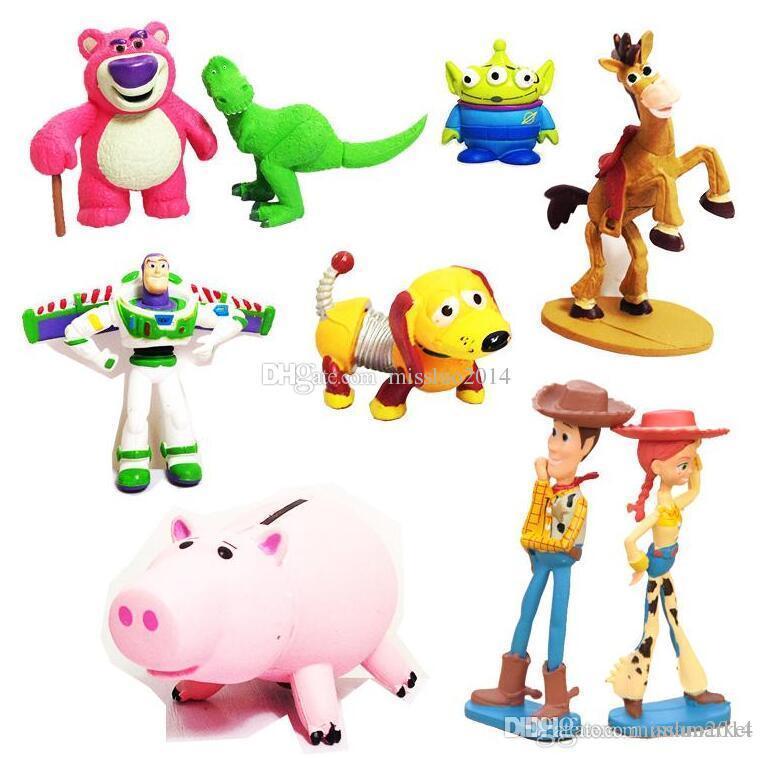 763x758 Best Cute Toy Story 3 Buzz Lightyear Jessie Lotso Mini Pvc Action