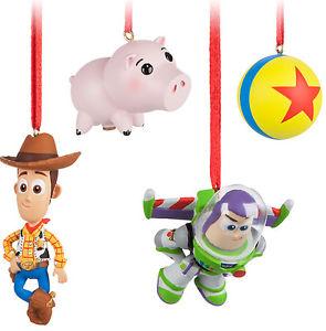 295x300 Disney Pixar Toy Story Sketchbook Mini Christmas Ornament Set Buzz