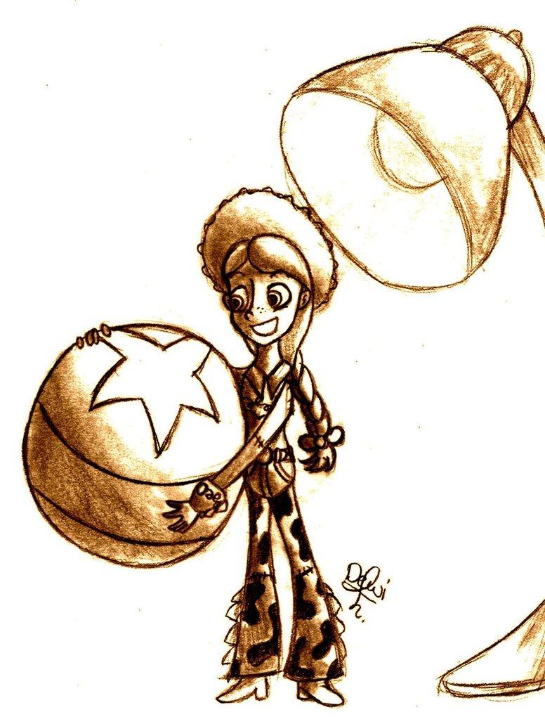 776x1030 Toy Story Jessie Sketch By Thesketchfox