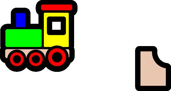 600x318 Toy Train Icon Clip Art Free Vector 4vector