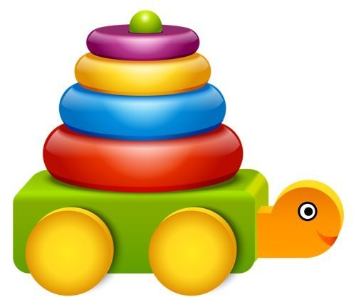 500x418 Baby Toys Clipart