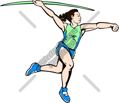 500x434 Track And Field Clip Art Clipart