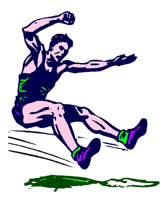 337x400 Track And Field Logo Clip Art 1065558